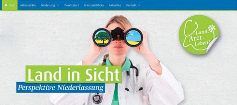 www.landarztleben.de: Die Website kann jetzt auch wie eine App auf mobilen Endgeräten verwendet werden.