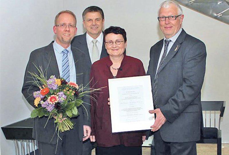 Michael Köhler, Thomas Schopperth, Andrea Schumacher, Klaus Röttger (von links). Foto: Klaus Röttger MA