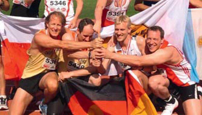 York-Bernhard Kalke, Oliver Schneider, Matthias Hautmann und Karsten Keller (von links). Foto: privat