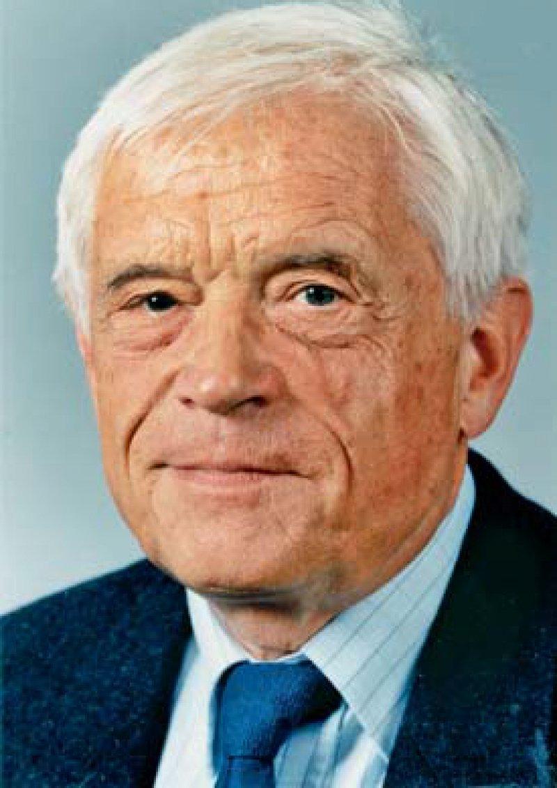Prof. Dr. med. Klaus Weise, Jahrgang 1929. Von 1973 bis 1995 Direktor der Psychiatrischen Klinik und Poliklinik der Universität Leipzig. Foto: Universität Leipzig