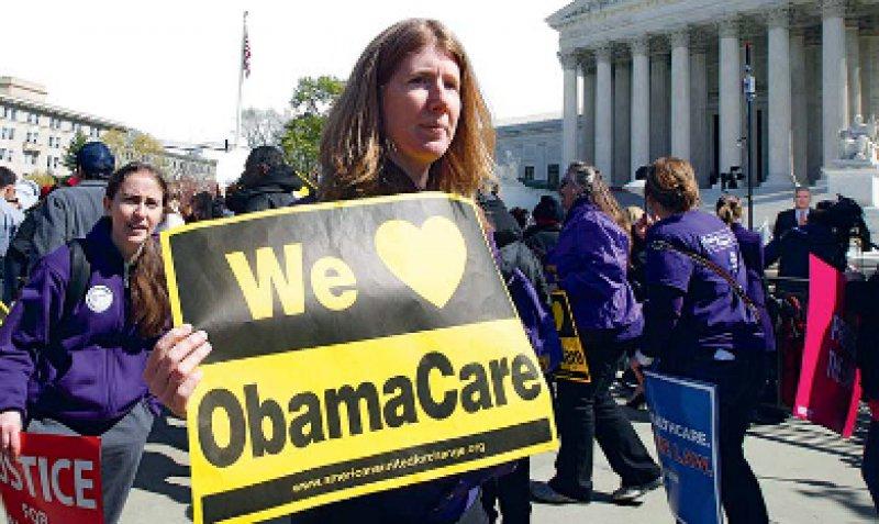 Eine Mehrheit der Bevölkerung steht hinter der Gesundheitsreform des Präsidenten. Foto: dapd