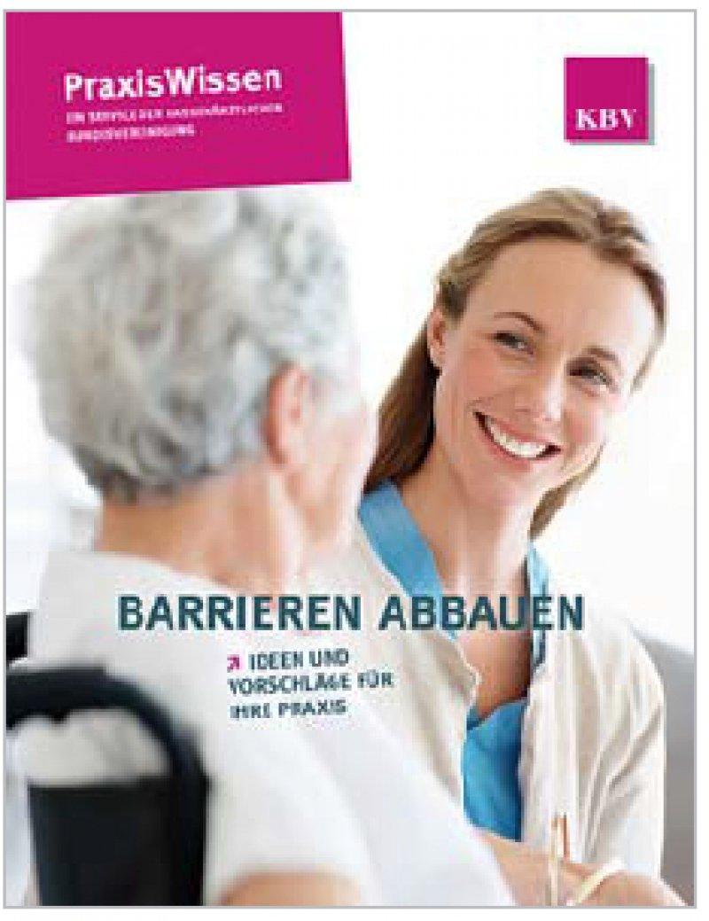 Für Patienten mit Behinderung ist der räumliche Zugang zur Praxis wichtig – aber auch die Kommunikation.
