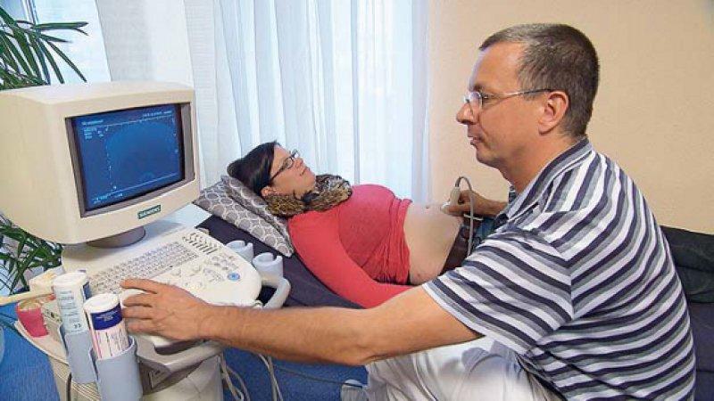 Ultraschall ist in der heutigen Geburtsmedizin Standard. Foto: ZDF/©telekult/Thomas Henkel