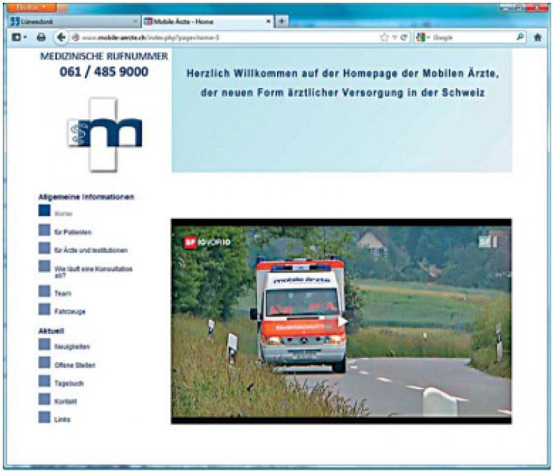 In der Schweiz bereits Realität: Abgelegene ländliche Gebiete etwa im Großraum Basel werden durch Ärzte versorgt, die in Kleinbussen ihre Patienten aufsuchen, um die medizinische Grundversorgung sicherzustellen (www.mobile-aerzte.ch).