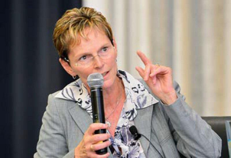 Regina Feldmann kritisiert, dass es zu wenige Lehrstühle für Allgemeinmedizin gibt. Foto: Georg J. Lopata