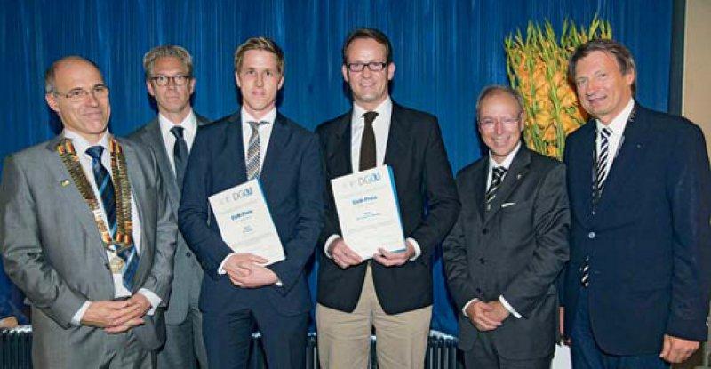 Wolfram Mittelmeier, Andreas Gassen, Holger Godry, Dino Georg Schulz, Christoph Josten und Joachim Hassenpflug (von links). Foto: Starface GmbH