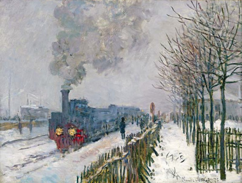 Claude Monet, Le train dans la neige. La locomotive, 1875. Foto: © Paris, Musée Marmottan Monet
