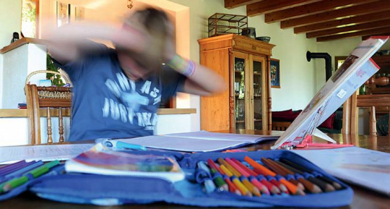 Etwa fünf Prozent der Kinder und Jugendlichen zwischen drei und 17 Jahren sind von ADHS betroffen – Jungen viermal häufiger als Mädchen. Foto: dpa