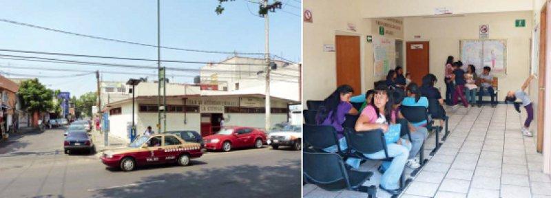 Anlaufstation für das Gros der Mexikaner: Öffentliche Gesundheitszentren wie das in Santo Domingo (l.) oder in Sierra Tarahumara im Norden des Landes versorgen die nicht krankenversicherte Bevölkerung.