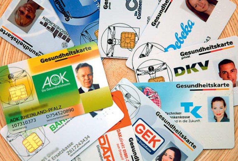 Bereits 95 Prozent der Versicherten haben eine elektronische Gesundheitskarte. Foto: dpa