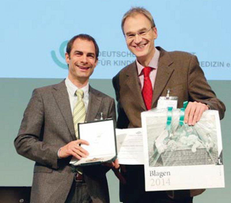 Sebastian Brenner und Norbert Wagner (von links). Foto: DGK