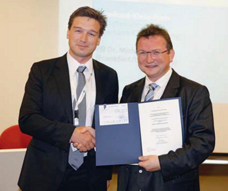 Michael Koss und Berthold Seitz (von links), Foto: DOG/Stefan Zeitz 2013