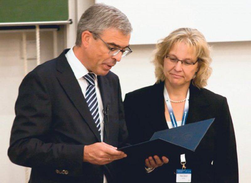 Matthias Frosch und Petra Dersch. Foto: Nadja Pohle