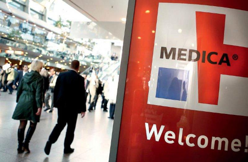 Medica-Daten Öffnungszeiten: Mittwoch bis Freitag: 10.00–18.30 Uhr, Samstag: 10.00–17.00 Uhr Ort: Messegelände Düsseldorf Internet: www.medica.de, Fotos: medica