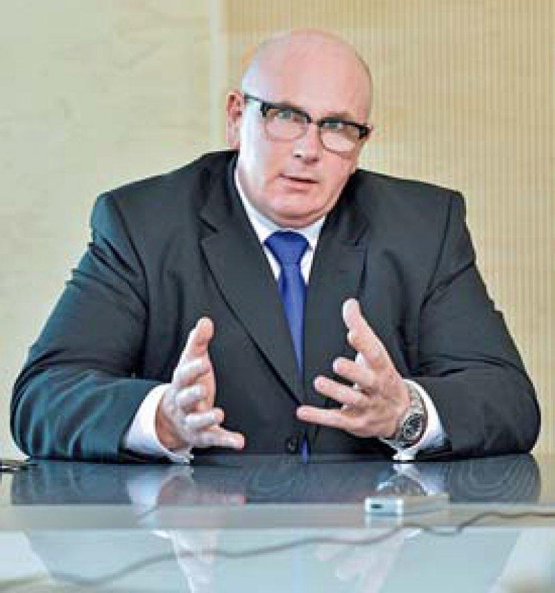 Konträre Ansichten vertreten derzeit Andreas Köhler...