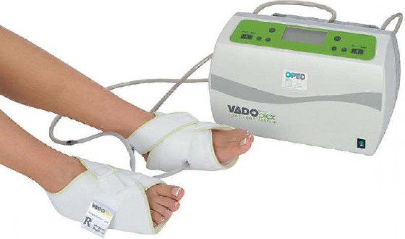 Kompressions therapie am Fuß Foto: OPED