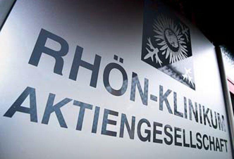 Die Fresenius- Tochter Helios will Rhön 43 Kliniken abkaufen. Foto: dpa