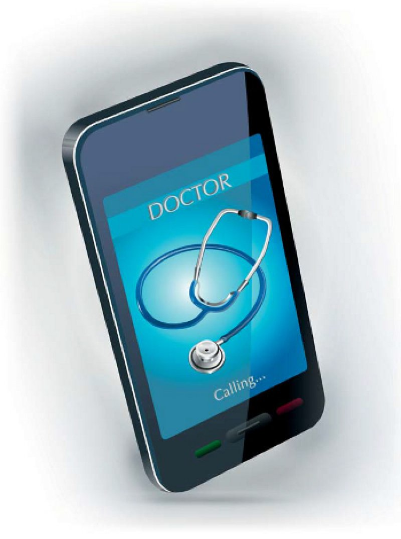Der Arzt ruft an: Gesundheitsprobleme sollen künftig auch am Mobiltelefon besprochen werden können. Foto: iStockphoto