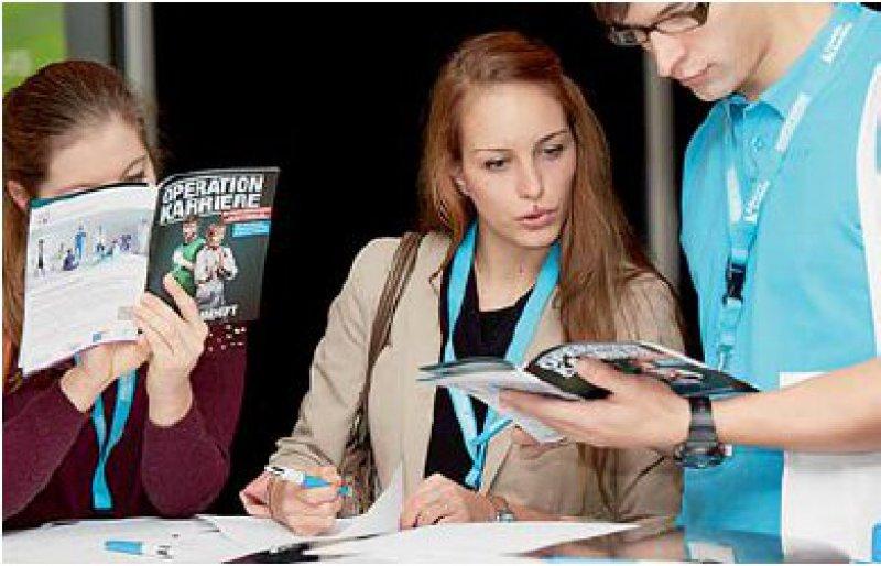 Die Karrierekongresse des Deutschen Ärzteblattes sind bei Studierenden und Berufseinsteigern beliebt. Foto: Britta Leuermann