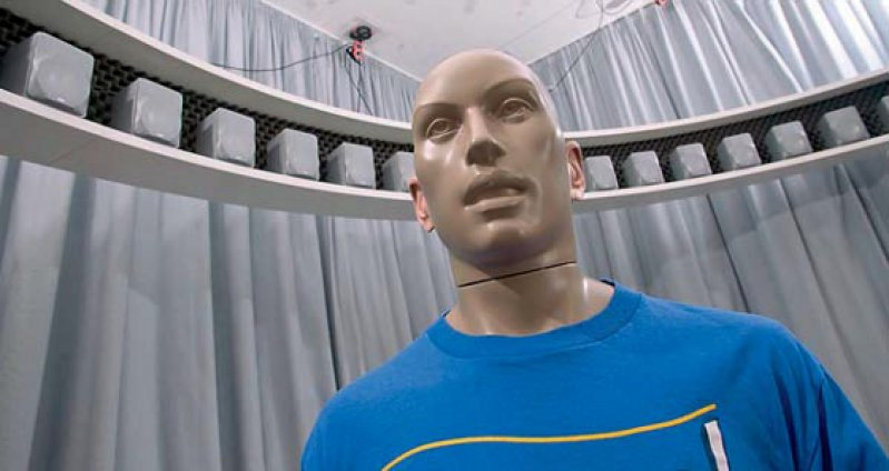 Mit Hilfe eines Roboters soll das Hören entschlüsselt und nachgebildet werden. Foto: TU Berlin/PR/Ulrich Dahl