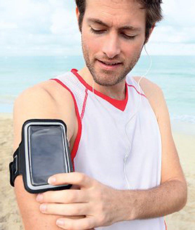 Mit Bewegungs-Apps können Nutzer zum Beispiel individuelle Trainingspläne erstellen und Messwerte ihrer Übungen aufzeichnen. Foto: Fotolia/Maridav