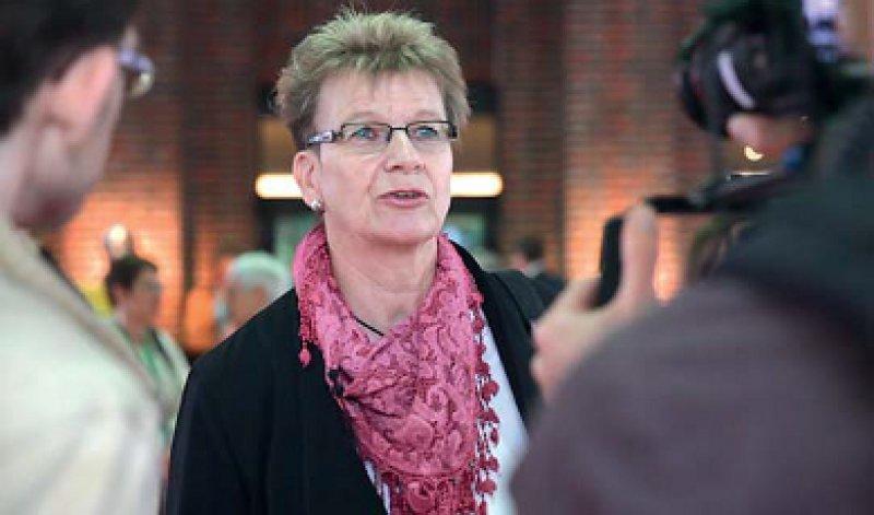 Wie Gabriele Wöbker den Ärzte- tag erlebte, ist unter www.aerzteblatt.de/video58891 zu sehen. Foto: Timo Blöß