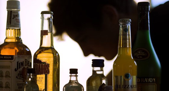 Alkoholflaschen /dpa