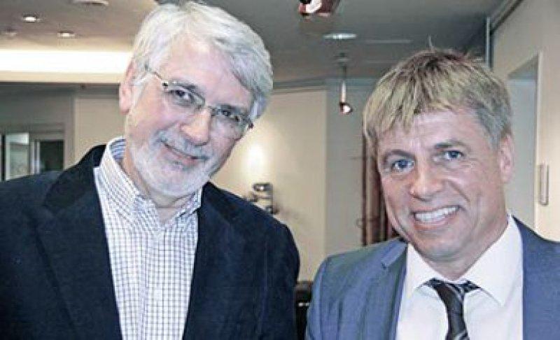 Die Vorsitzenden der [inside]med-Veranstaltungen 2014: Ady Osterspey aus Köln (links) und Erhard Siegel aus Heidelberg Foto: privat