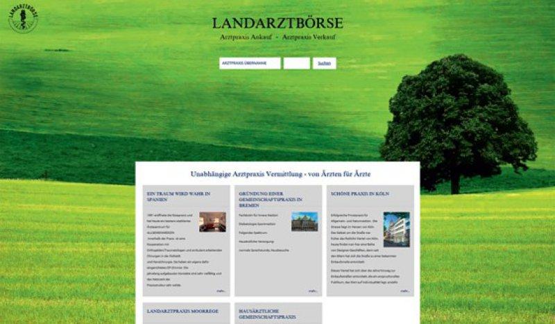 www.landarztboerse.de