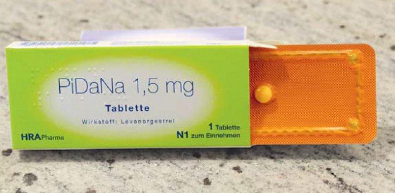 Levornogestrel (PiDaNa®) ist nur ein Präparat zur Notfallkontrazeption. Auf Ulipristalacetat (ellaOne®) bezieht sich die Empfehlung nicht. Foto: KNA-Bild
