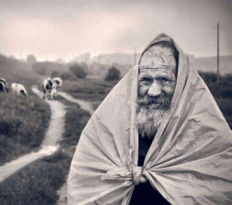 """""""Lächelnd im Frühlingsregen"""" ist der Titel des Kalenderbildes für den April 2015"""