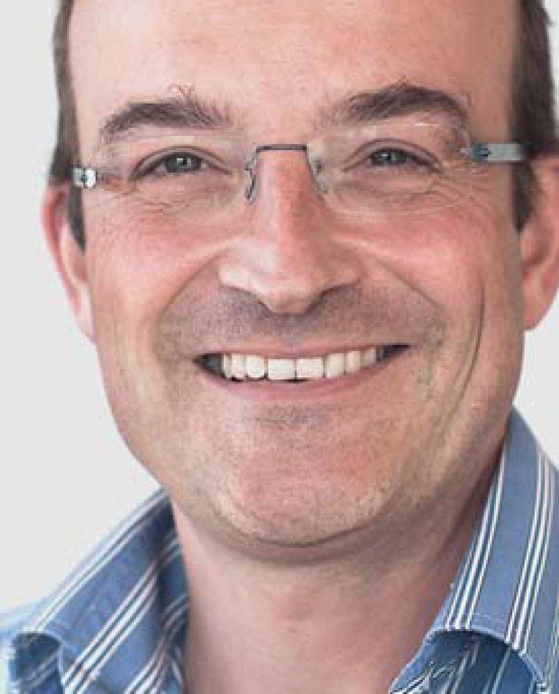 Florian Westphal (48) ist gelernter Journalist. Er arbeitet seit Juni 2014 für MSF. Zuvor war er 15 Jahre lang für das Internationale Komitee vom Roten Kreuz tätig, unter anderem im Kongo, in Sierra Leone, Kenia und am Hauptsitz in Genf. Foto: Babara Sigge MSF