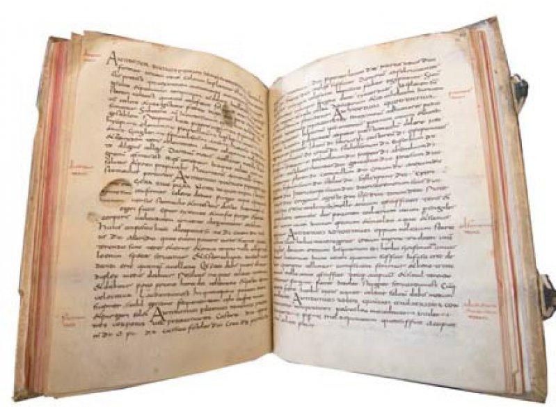 Das Lorscher Arzneibuch gehört heute zum Bestand der Staatsbibliothek Bamberg.