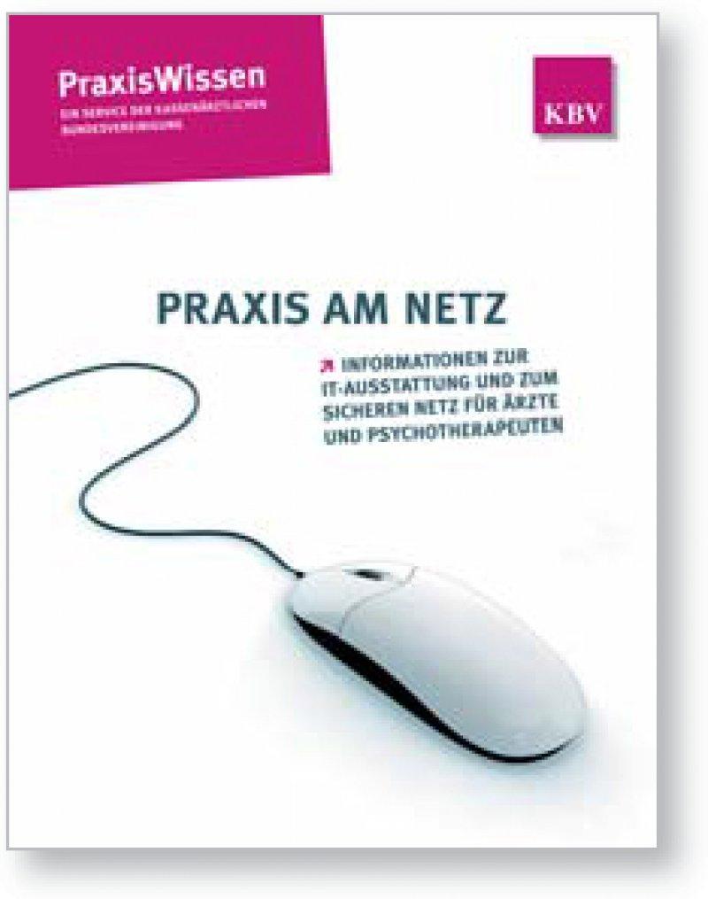 Sicher online kommunizieren: Die Informationsbroschüre der KBV liegt einer Teilauflage dieser Ausgabe bei.