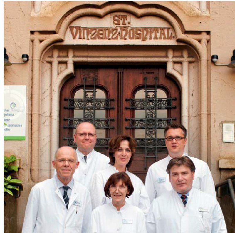 Gemeinsam in der Verantwortung: Sechs Ärztinnen und Ärzte übernahmen gemeinsam die Leitung der Abteilung für Anästhesie. Foto: privat