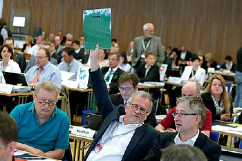 Die grüne Karte aus Bremen für den Haushaltsvoranschlag der Bundesärztekammer