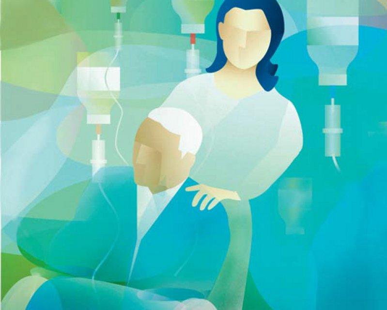 Eine Titelgeschichte des Deutschen Ärzteblattes (Heft 26/2015) stellte die vier Gesetzentwürfe zur Sterbehilfe vor (www.aerzteblatt.de/i2615). Bild: picture alliance