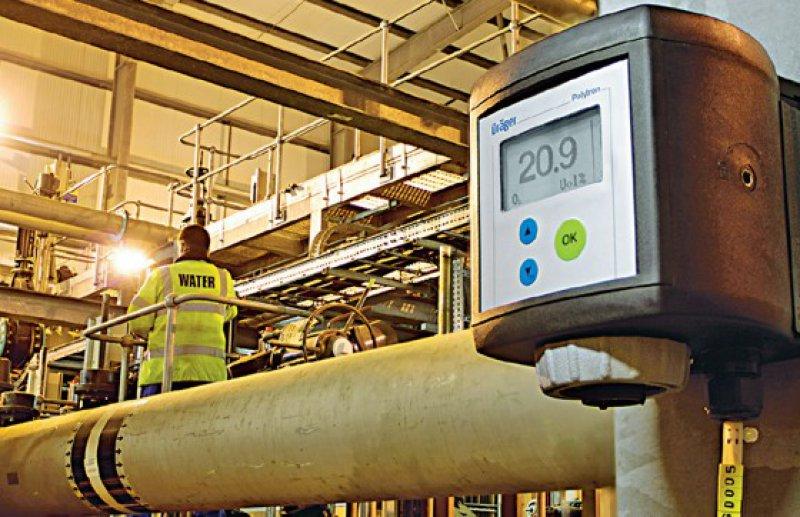 und der Polytron 7000 zur Messung der Gaskonzentrationen.