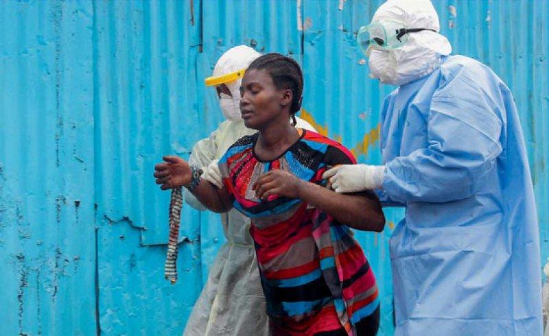 Die konsequente Isolierung von Ebola-Patienten wird entscheidend in dem Bestreben sein, die Infektionskette ganz zu durchbrechen und die Neuinfektionsrate auf Null zu bringen. Foto: dpa