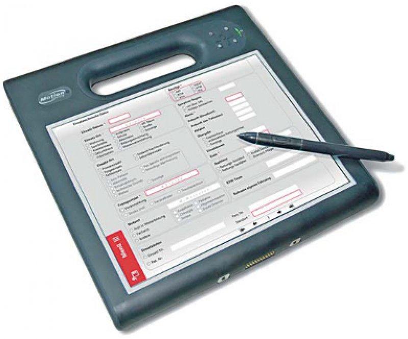Schnell per Hand ausgefüllt: Handschrifterkennung und regelbasierte Eingabehilfen erleichtern das Ausfüllen. Foto: n-tier