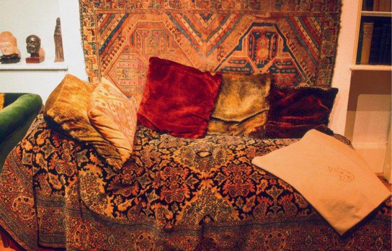 Die Behandlungscouch im Sigmund-Freud-Museum in London. Foto: picture alliance