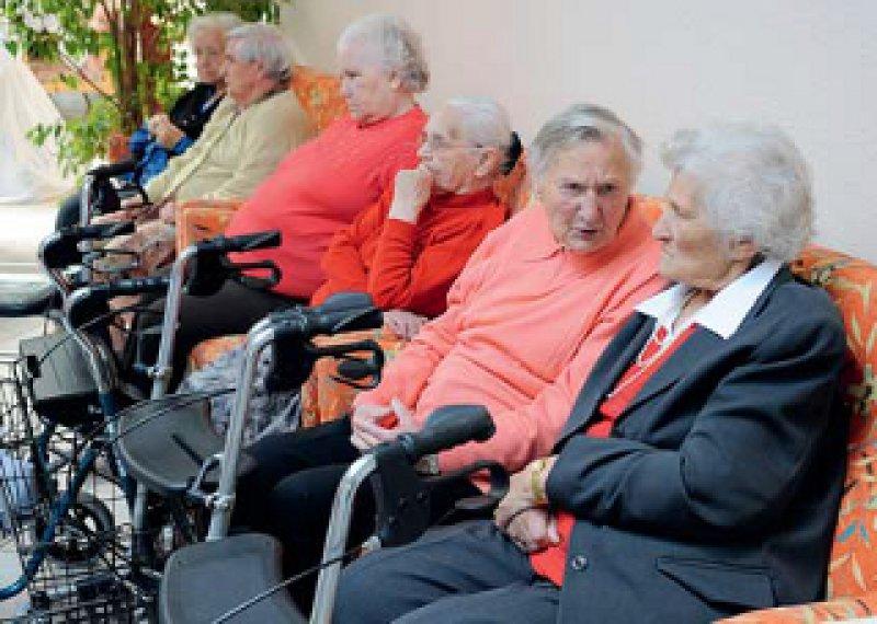 2,6 Millionen Pflegebedürftige gibt es derzeit in Deutschland. Foto: picture alliance
