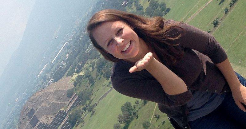 Südamerika-Fan Franziska Boemke-Zelch auf Entdeckungstour: Trotz der schwierigen Sicherheitslage war die deutsche Medizinstudentin in Mexiko viel unterwegs. Fotos: privat