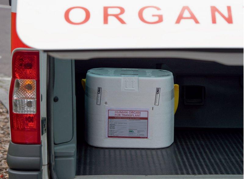 Organe reisen teilweise weit: Derzeit werden die Daten von der Organentnahme bis zur Nachbetreuung der Patienten nach einer Transplantation jedoch nur dezentral gespeichert. Foto: dpa