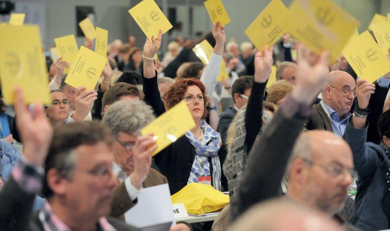 Eindeutiges Votum: Die Delegierten sprachen sich gegen die willkürliche Festsetzung von Arzneimittelpreisen aus.