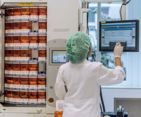 Digitale Krankenhausapotheke
