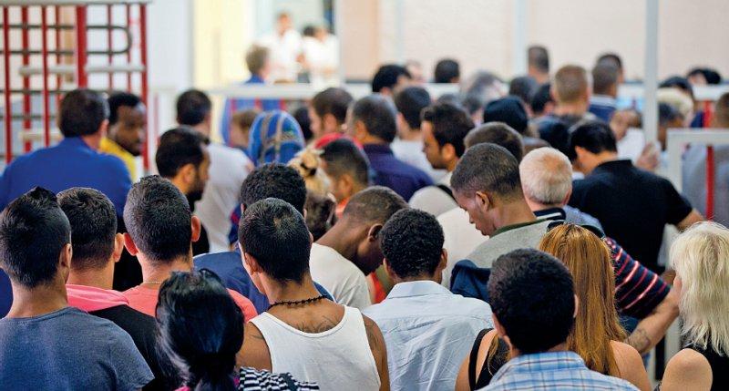 Datenlücke: Nur wenig ist bekannt über den allgemeinen Gesundheitszustand der Asylbewerber in Deutschland. Foto: dpa