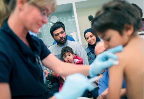 Medizinische Versorgung von Flüchtlingen