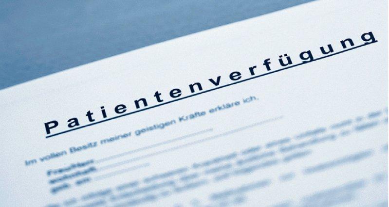 www.dipat.de: Intelligenter Internetdienst für die Realisierung einer wirksamen Patientenverfügung. Foto: picture alliance
