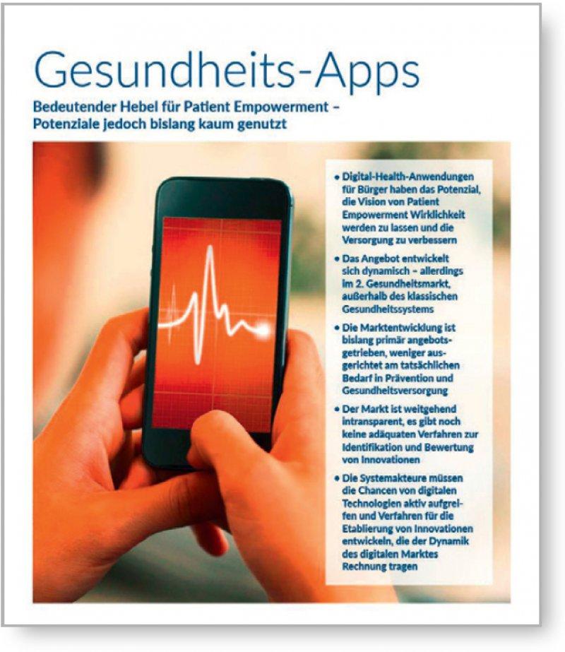 Der Medikamenten-Reminder, digitale Chroniker-Tagebücher, der Hörtest per Smartphone – das Angebot an digitalen Gesundheitsanwen dungen wächst.